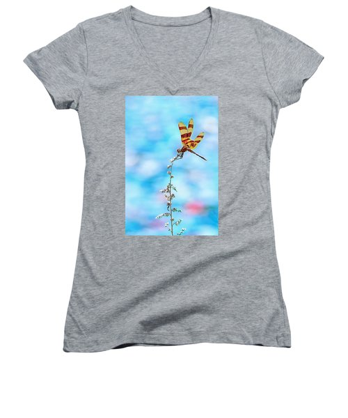 Dragonfly Women's V-Neck