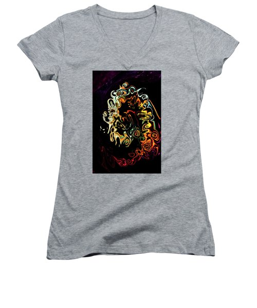 Dramatic Women's V-Neck (Athletic Fit)