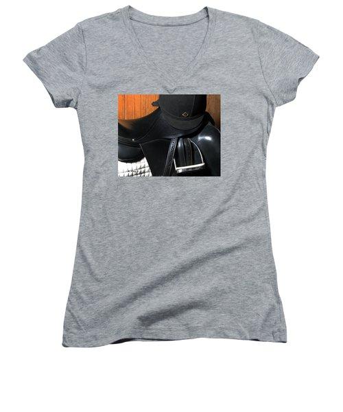 Drassage Ready Women's V-Neck T-Shirt