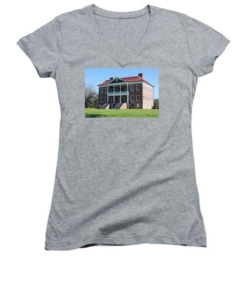 Drayton Hall Women's V-Neck T-Shirt