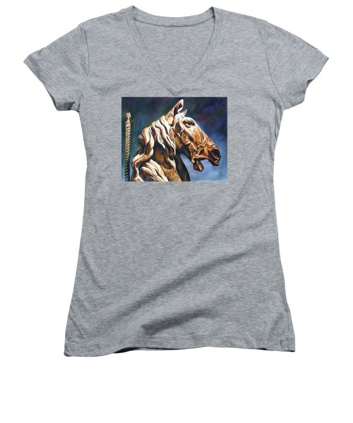 Dream Racer Women's V-Neck T-Shirt