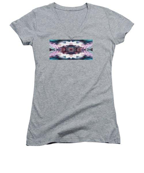 Dreamchaser #4939 Women's V-Neck T-Shirt