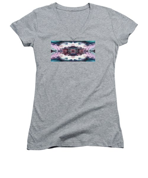 Dreamchaser #4939 Women's V-Neck (Athletic Fit)