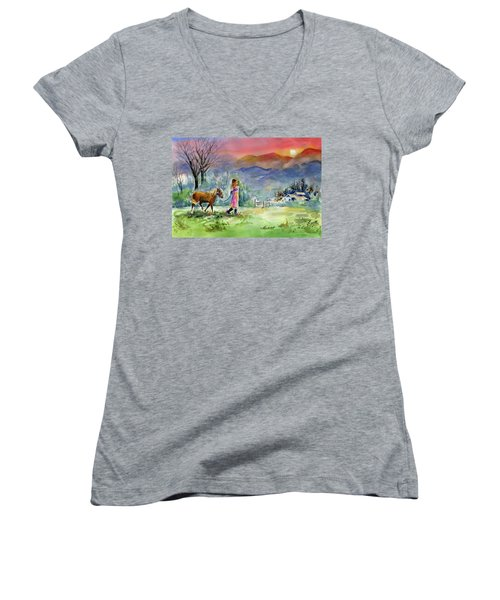 Dreaming Big Women's V-Neck