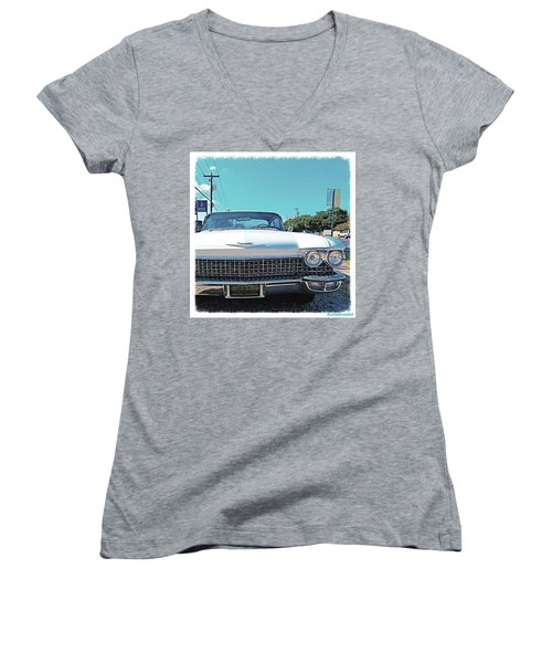 Dreaming Of Going #vintage And #classic Women's V-Neck