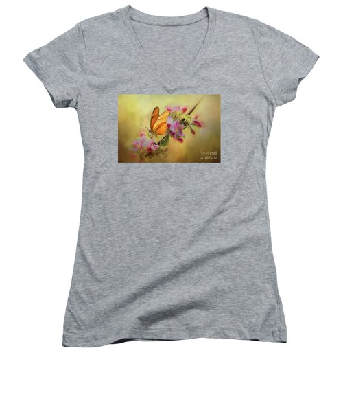 Dreaming Of Spring Women's V-Neck