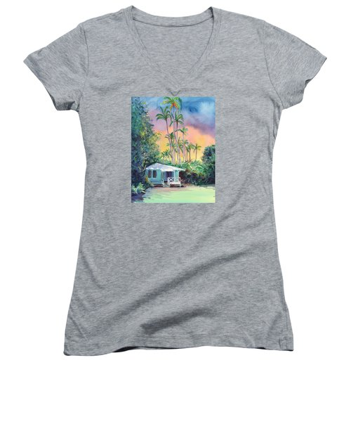 Dreams Of Kauai Women's V-Neck T-Shirt