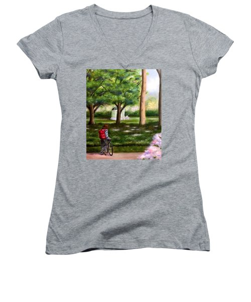 Dreams Of Tomorrow Women's V-Neck (Athletic Fit)