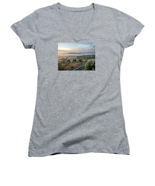 Dreamy Landscape Women's V-Neck T-Shirt