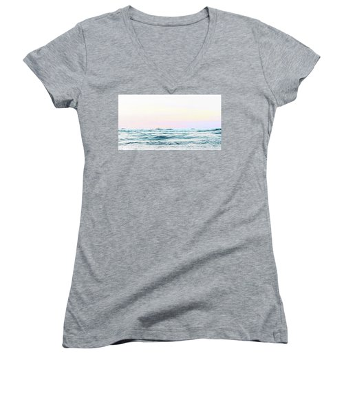 Dreamy Ocean Women's V-Neck T-Shirt