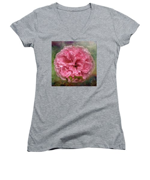 Drenched Women's V-Neck T-Shirt