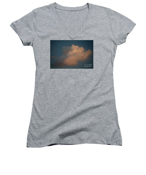 Drift Away Women's V-Neck T-Shirt (Junior Cut) by Jesse Ciazza