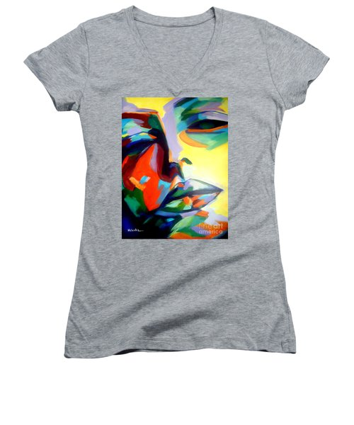 Drifting Into A Dream Women's V-Neck (Athletic Fit)