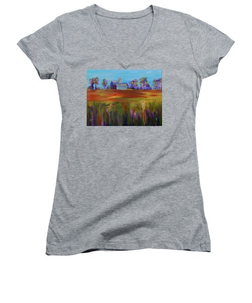 Drive-by View Women's V-Neck T-Shirt