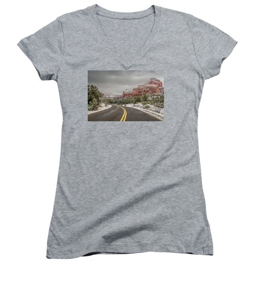 Boynton Canyon Road Women's V-Neck
