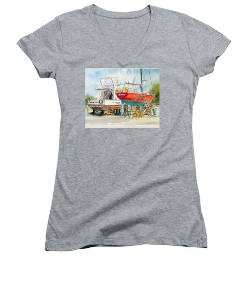 Dry Dock Women's V-Neck T-Shirt