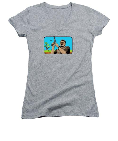 Duck Hunting On Shabbos  Women's V-Neck T-Shirt