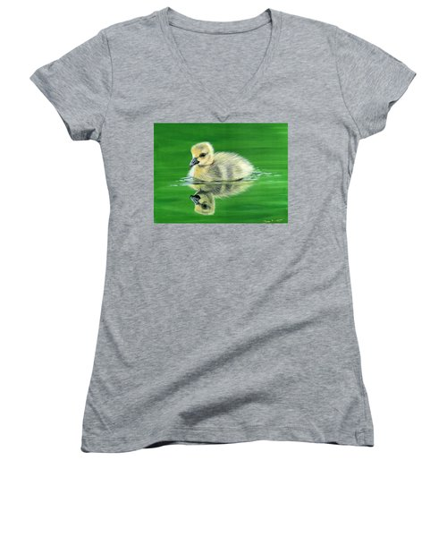 Duckling Women's V-Neck