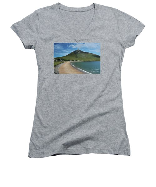 Dugort Beach Achill Women's V-Neck