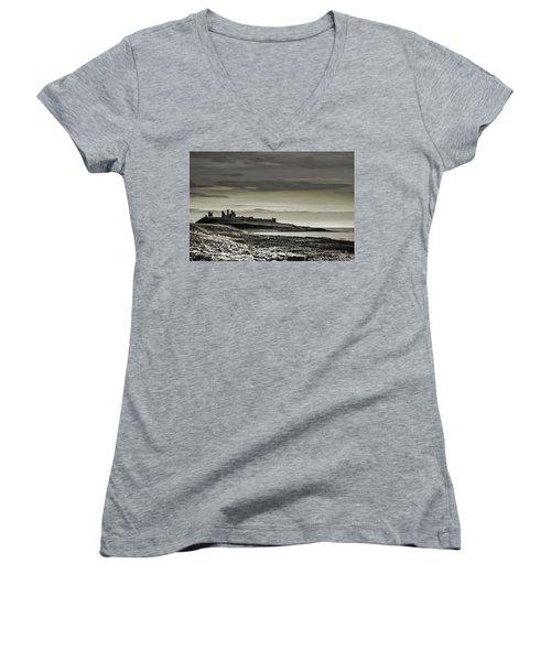 Dunstanburgh Women's V-Neck T-Shirt