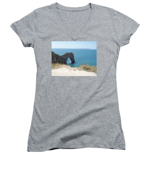 Durdle Door Photo 3 Women's V-Neck