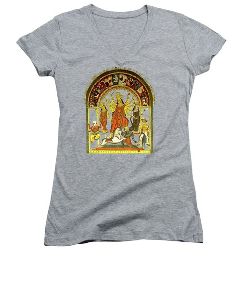 Durga Women's V-Neck (Athletic Fit)