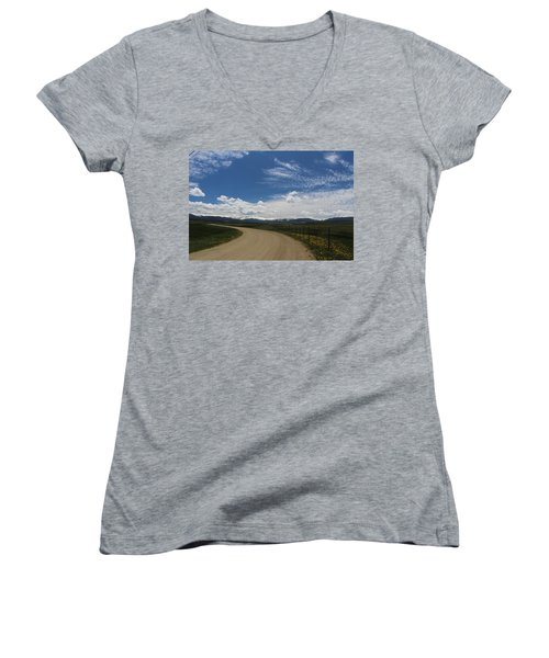 Dusty  Road Women's V-Neck