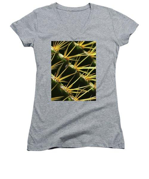 Dwarfed Women's V-Neck T-Shirt