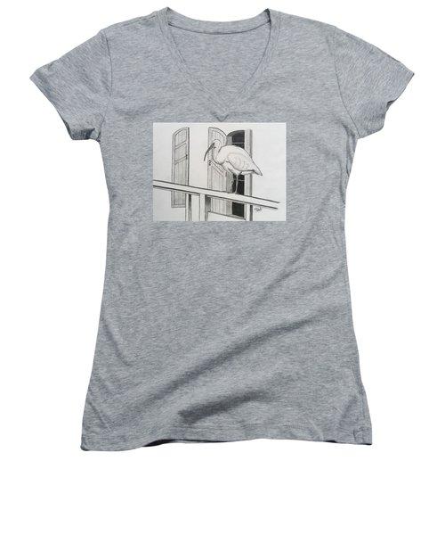 Early Bird Women's V-Neck T-Shirt