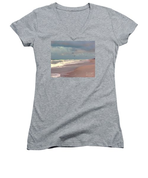 Early Evening Women's V-Neck T-Shirt