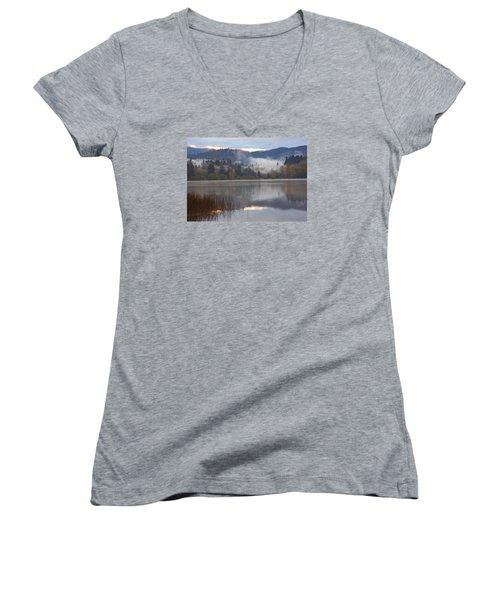 Early Morning Women's V-Neck T-Shirt