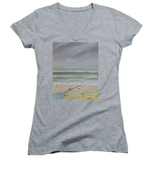 Early Morning Fog Women's V-Neck