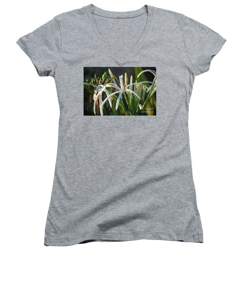 Early Morning Lily Women's V-Neck