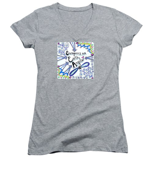 Earth Angel Women's V-Neck