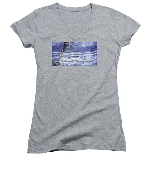 Earth Portrait 001-68 Women's V-Neck