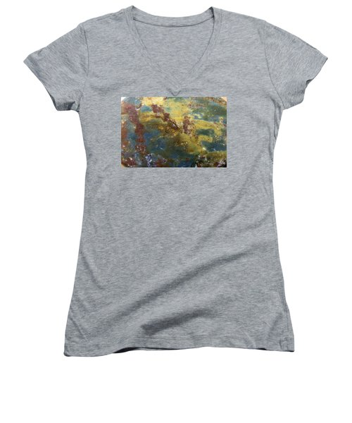 Earth Portrait 008 Women's V-Neck