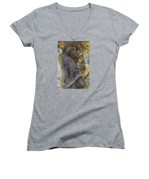 Earth Portrait 012 Women's V-Neck