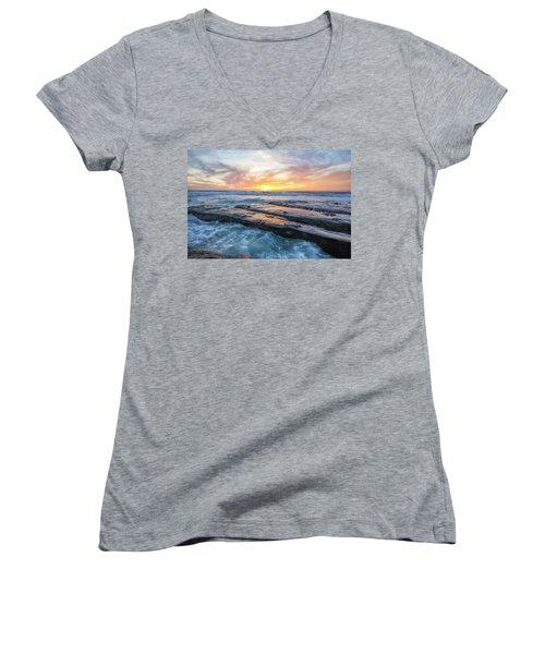 Earth, Sea, Sky Women's V-Neck