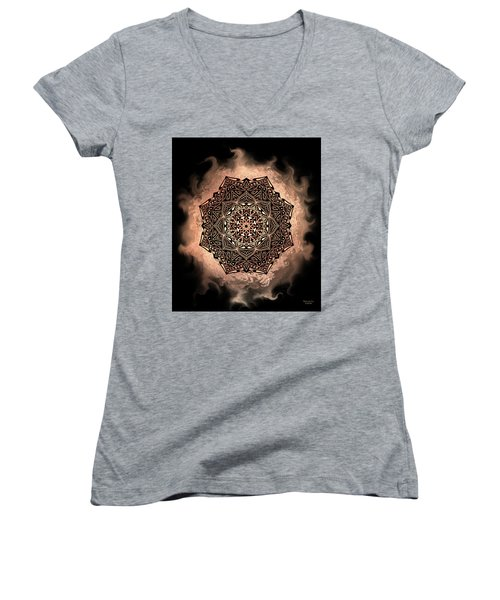Earthy Mandala Women's V-Neck