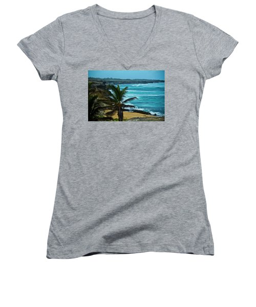 East Coast Bay Women's V-Neck