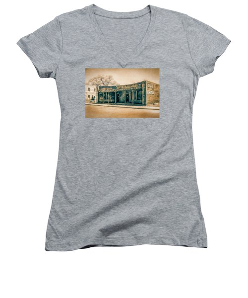 Eat And Drink Women's V-Neck