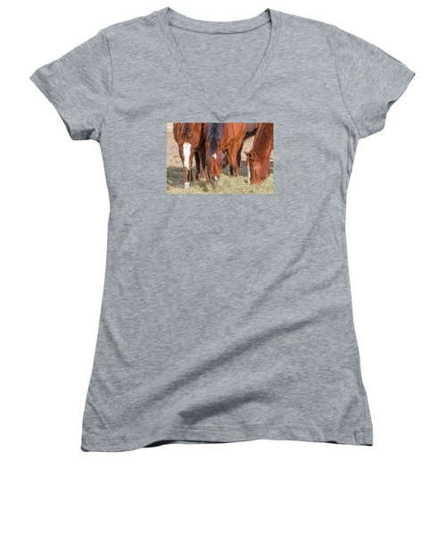 Eat Some Wear Some Women's V-Neck (Athletic Fit)