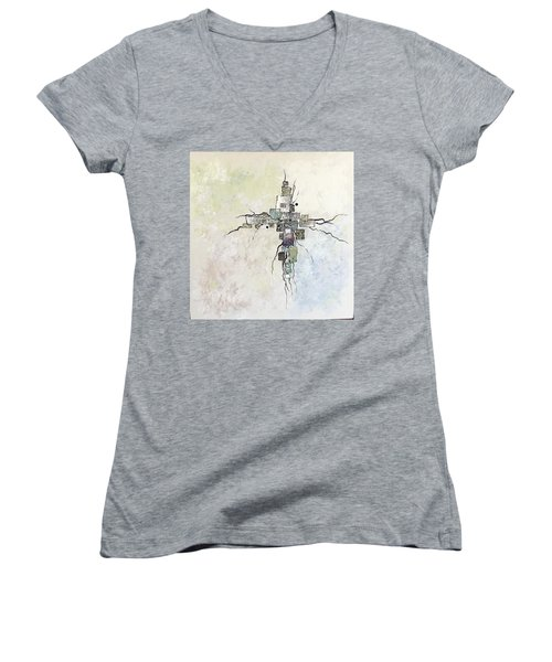 Edgy Women's V-Neck T-Shirt