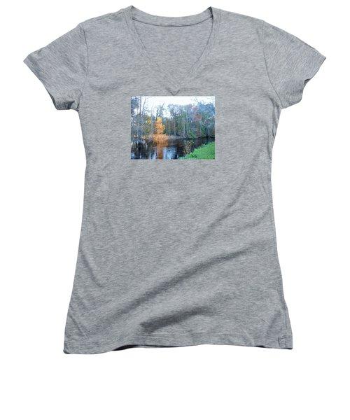 Edisto River Women's V-Neck T-Shirt