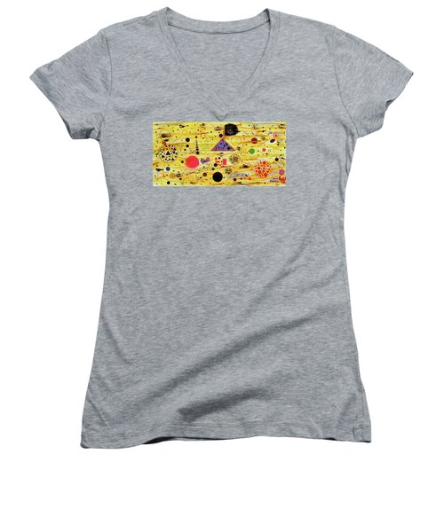 Egyptian Sunrise Women's V-Neck