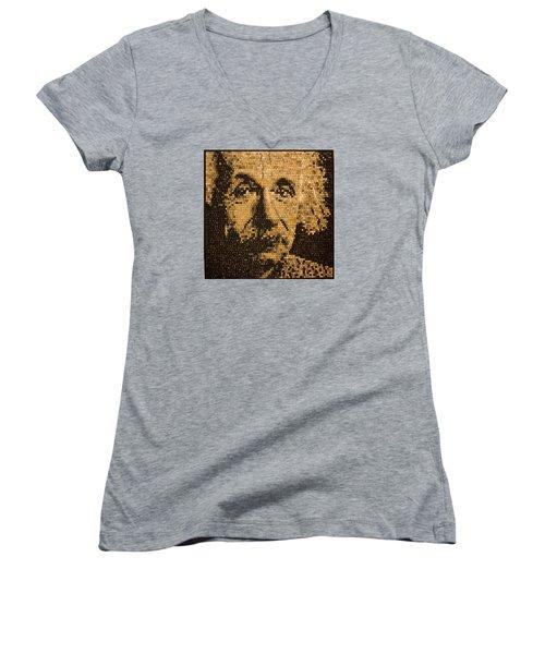Einstein Women's V-Neck T-Shirt