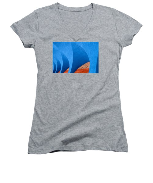 Ekklisia Women's V-Neck T-Shirt