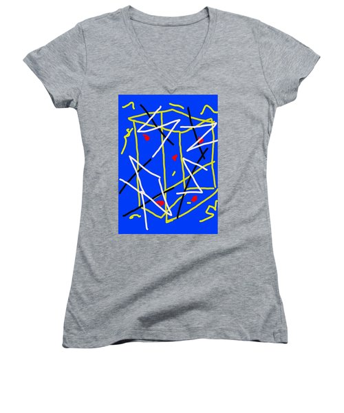 Electric Midnight Women's V-Neck