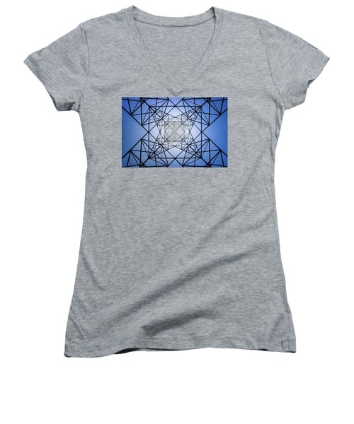 Electrical Symmetry Women's V-Neck