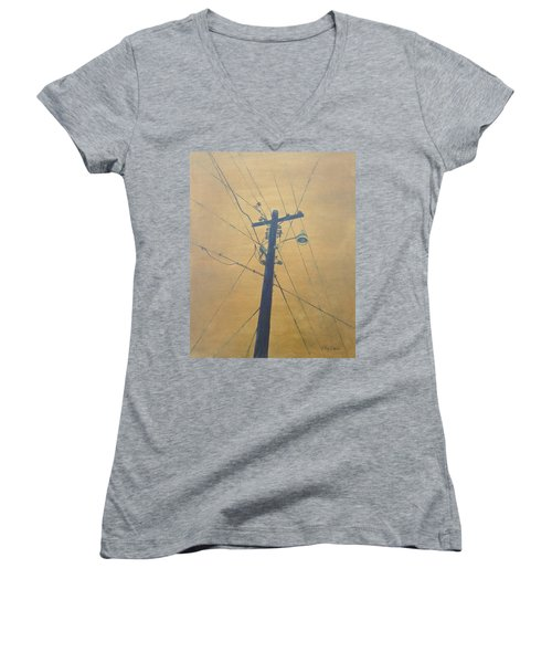 Electrified Women's V-Neck T-Shirt